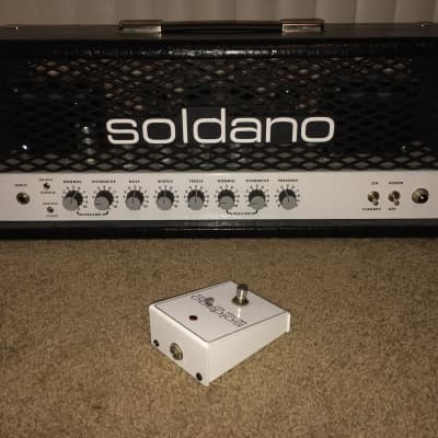 Soldano SLO 100 2006 Custom Black Crocodile for sale