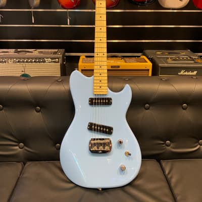 G&L SC2 Fullerton Himalayan Blue Maple for sale