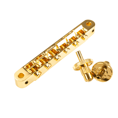 TonePros® Replacement AVR2 Tune-O-Matic Bridge With Standard Nashville Post