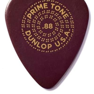 Dunlop 511P Primetone Standard Sculpted Plectra .88mm 3 Pack
