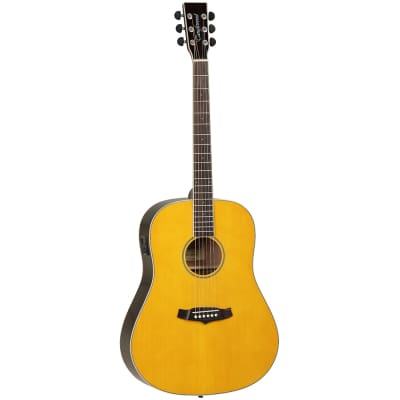 Tanglewood Java TWJ OJ E Slope Shoulder Dreadnought Acoustic Guitar for sale