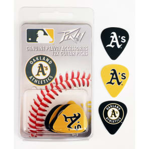 Peavey PV03023070 Oakland A's Guitar Picks (12)