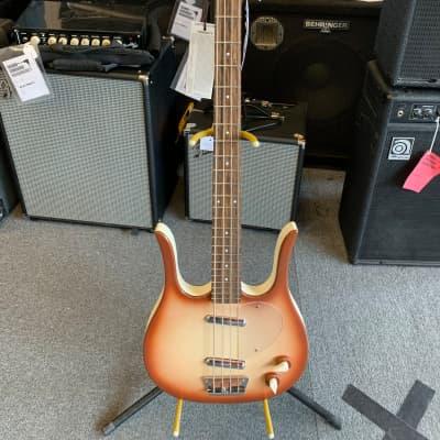 Danelectro 58 Longhorn Bass (Copper Burst) for sale
