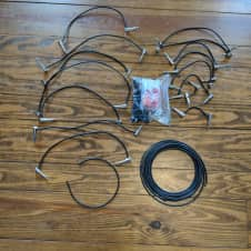 George L's Solderless Right Angle Plugs (15 Patch Cables)