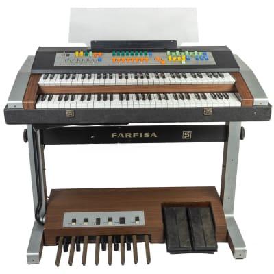 Ca. 1970 Farfisa Professional Duo