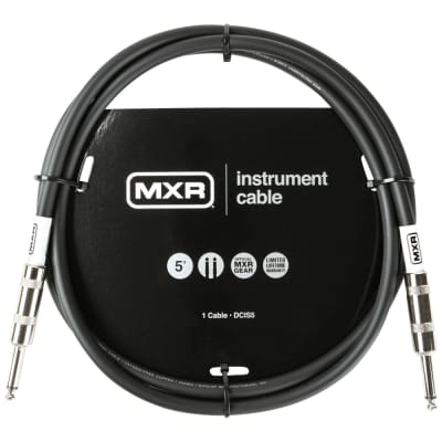 MXR Standard Series Straight Instrument Cables - 5 ft.