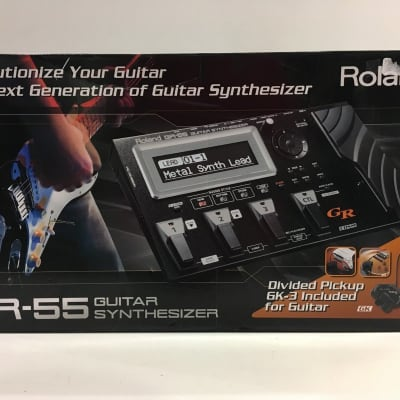 Roland GR-55 Guitar Synth with GK-3 Pickup