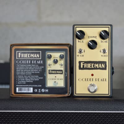 Friedman Golden Pearl Overdrive Pedal (Pre-owned)