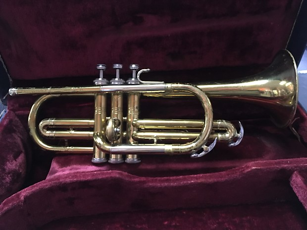 Vintage Conn Director Cornet with original case! - Free Shipping!