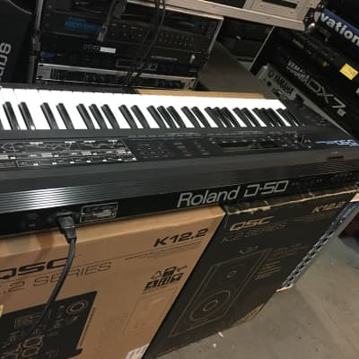 Roland D-50 61-Key Linear Synthesizer Clean D50 Keyboard Serviced //ARMENS//.