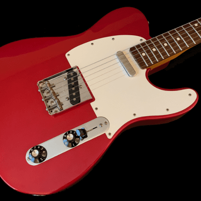 Fender Muddy Waters Signature Limited Candy Apple Red Telecaster for sale
