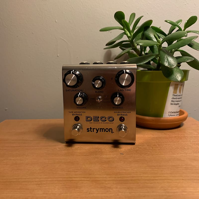 strymon deco tape saturation and doubletracker brian 39 s reverb. Black Bedroom Furniture Sets. Home Design Ideas