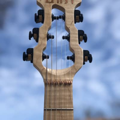 Gypsy Electric Guitars Seafoam Green Flamed Maple Neck 2021 Seafoam Green