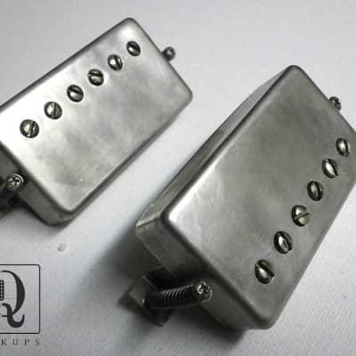 Humbucker Pickups PAF RELIC AGED Vintage Correct  Fits Gibson SG LP Greco Tokai Epi Q pickups P.A.F.