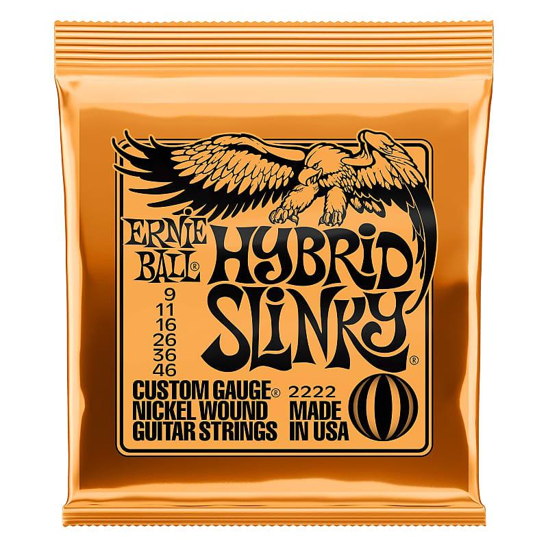 Ernie Ball Hybrid Slinky Nickel Wound Electric Guitar Strings - 9-46 Gauge