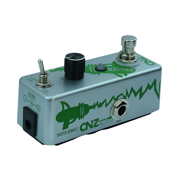 cnz audio phaser guitar effects pedal true bypass reverb. Black Bedroom Furniture Sets. Home Design Ideas