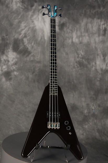 kramer flying v bass 1981 plum reverb. Black Bedroom Furniture Sets. Home Design Ideas