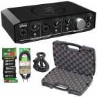 Mackie Onyx Producer 2•2 2x2 USB MIDI Audio Recording Interface + XLR/TS Pack image