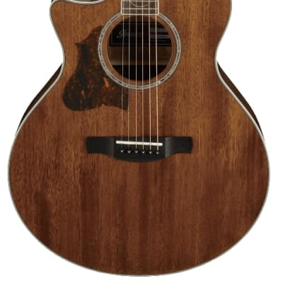 Ibanez AE245L-NT AE Series 6 String LH Acoustic Electric Guitar - Natural High Gloss