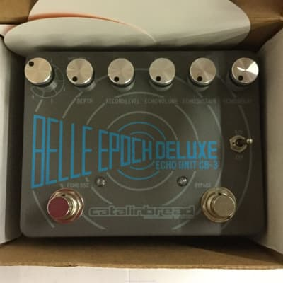 Catalinbread Belle Epoch Deluxe CB3 Dual Tape Echo Emulation Pedal
