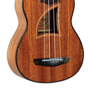 Eddy Finn EF-9-S Tropical Mahogany Soprano Ukulele - Walnut for sale