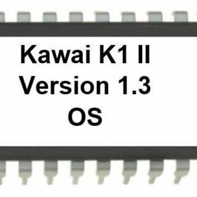 Kawai K1m Version 1.5 Firmware Upgrade Update OS Eprom for K1-m Desktop Synth