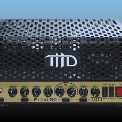 THD Flexi-50 - 50 Watt Amp Head 2000s Black & Silver for sale