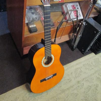New York Pro 851YW circa 2010's Natural Classical Guitar NOS for sale