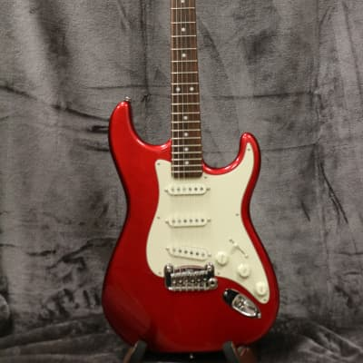 G&L Legacy USA 2014 Red with Original Hard Shell Case