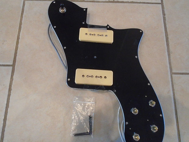 Fender Custom Deluxe Telecaster Loaded P90 Pickguard Reverb