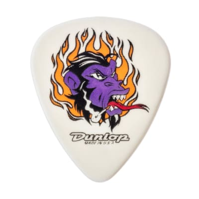 Dunlop BL01R073 Alan Forbes Flame Ape .73mm Guitar Picks (36-Pack)