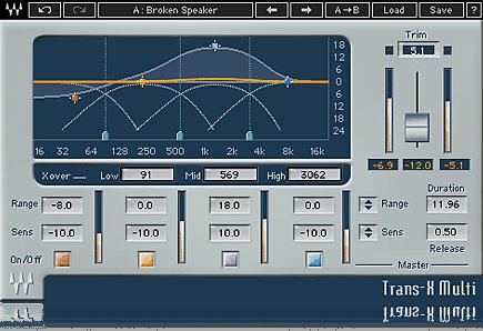 Waves Trans-X Exciter AAX VST3 AU AUDIOSUITE