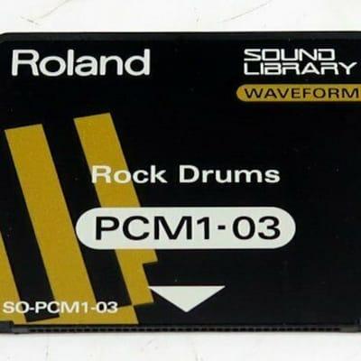Roland Sound Library SO-PCM1-03 Rock Drums PCM-Samples für JV1080 JD-990