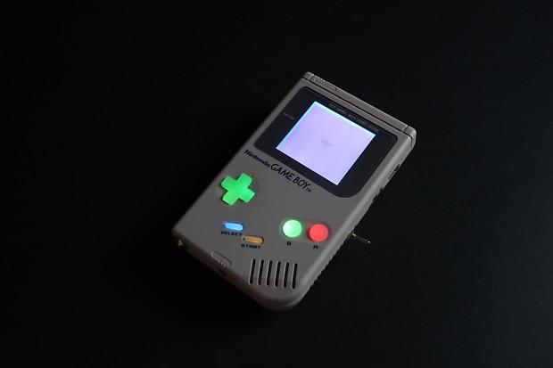 Custom Nintendo Gameboy DMG - Chiptune - LSDJ - Nanoloop