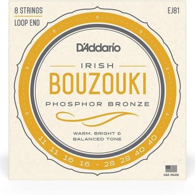 D'Addario Bouzouki Strings Phosphor Bronze EJ81
