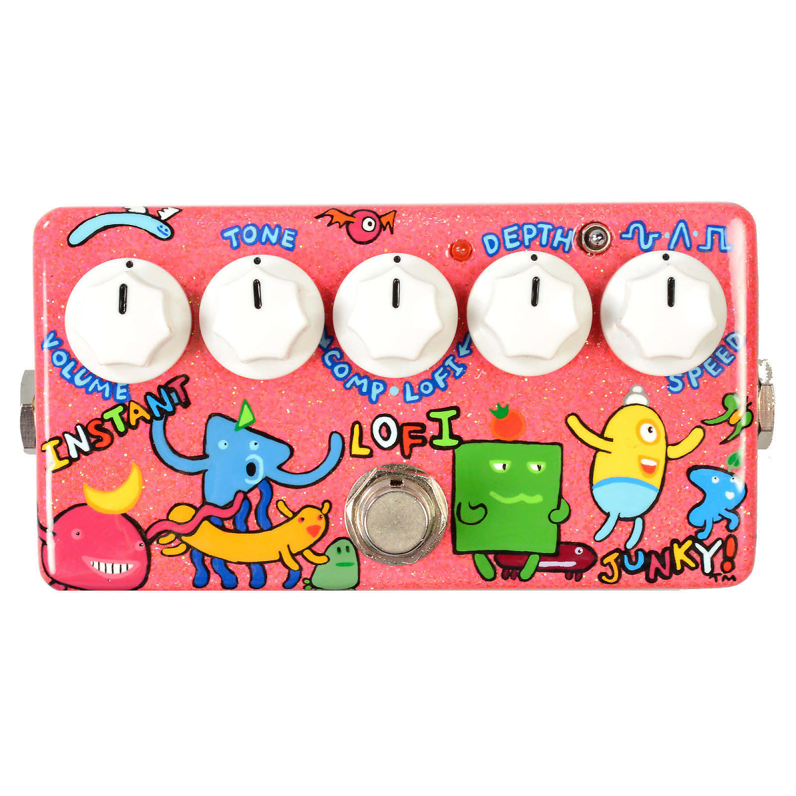 Zvex Effects Vertical Instant Lo-Fi Junky FREE 2 DAY SHIP