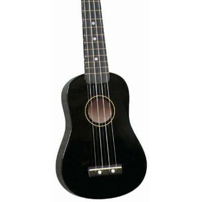 Hilo Soprano Ukulele Uke with Gig Bag - Black (2500BK) for sale