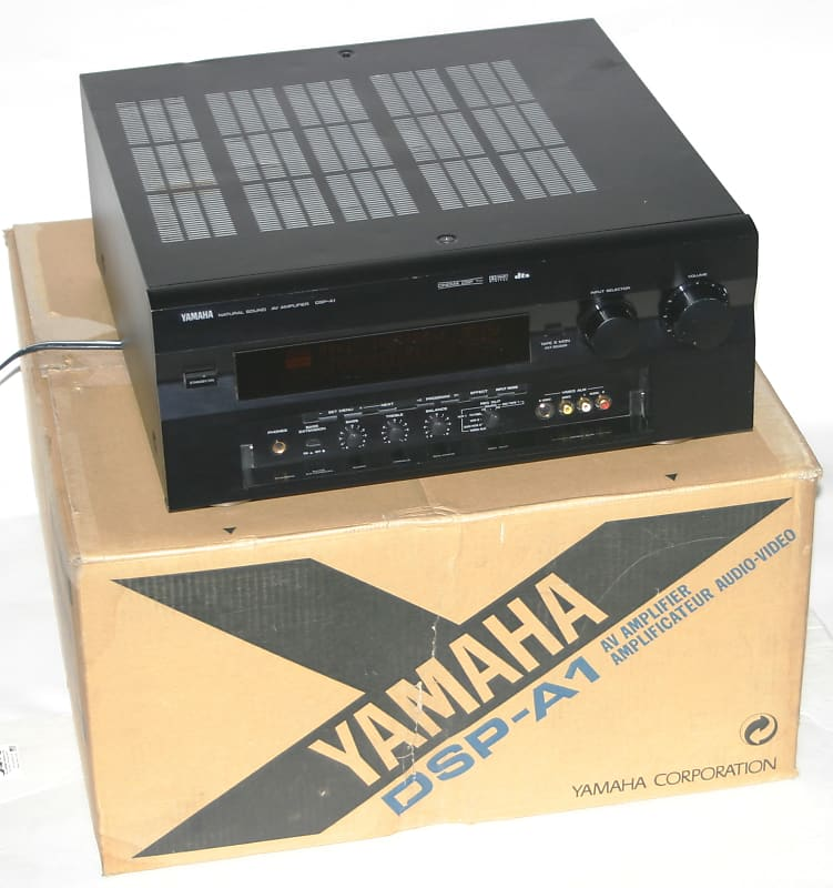 Yamaha Dsp A1 7 Channel Integrated Amplifier 110w Dolby Dts Black Working Vg