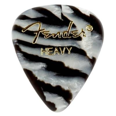 Fender Zebra, 351 Shape, Heavy (12) Guitar Picks for sale