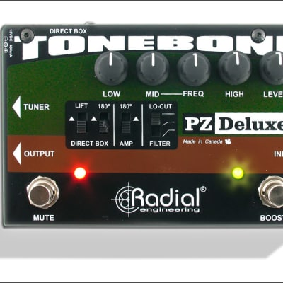 Radial Tonebone PZ-Deluxe Acoustic Preamp