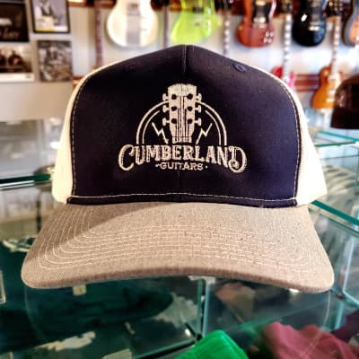 Cumberland Guitars Trucker Hat - Navy Blue / White / Grey