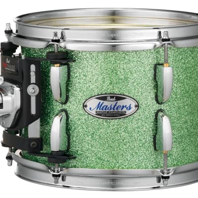 """Pearl Masters Maple Complete 16""""x14"""" tom w/optimount ABSINTHE SPARKLE MCT1614T/C348"""