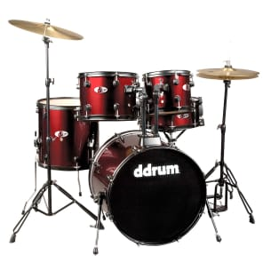 """ddrum D120B-BR 5pc Drum Set with Cymbals and Hardware (8x10/9x12/14x14/16x20/5.5x14"""")"""