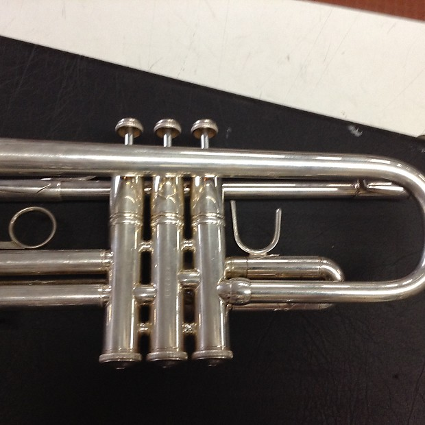 Bach Omega Ml Trumpet Silver Reverb
