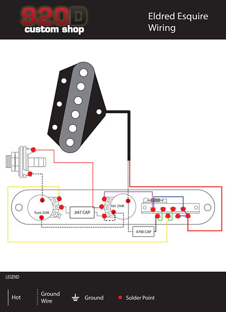 fender esquire telecaster eldred mod loaded 3 way control plate, chrome