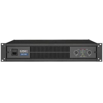 QSC CX1102 2-Channel Commercial Power Amplifier