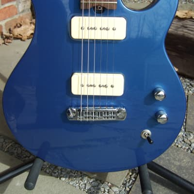 Gadow American Classic P-90 2008 Custom made in USA Blue MINT with Factory Gadow Gig Bag for sale