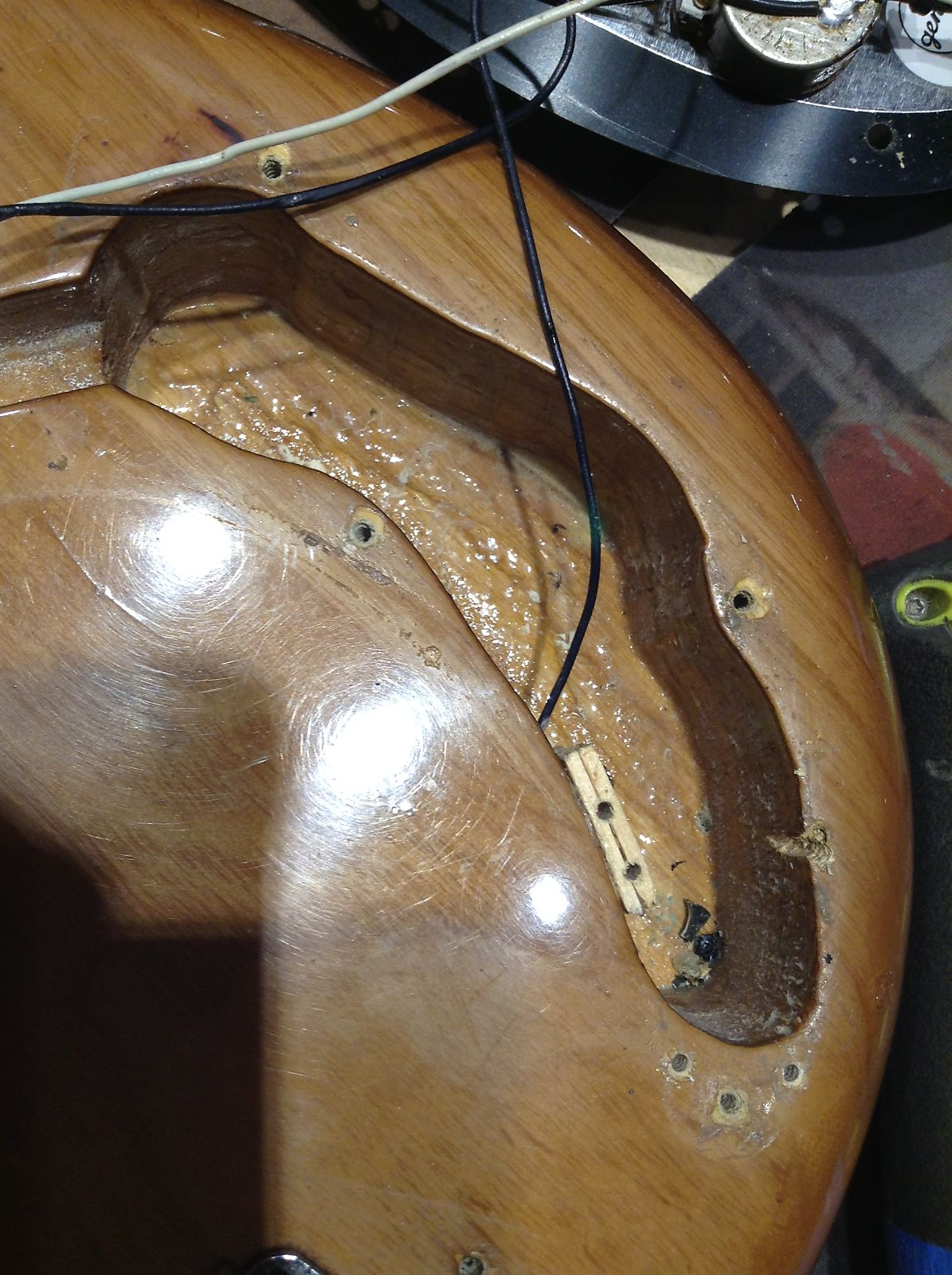 Fender Precision Bass Walnut 1973 S066 P Wiring 2750
