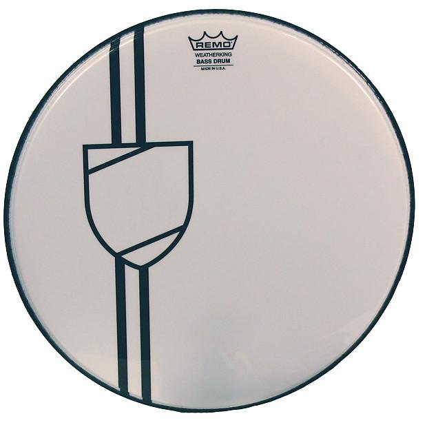 remo 24 custom shield graphic bass drum head reverb. Black Bedroom Furniture Sets. Home Design Ideas