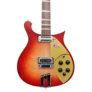 Rickenbacker 660/12 12 String Electric Guitar - Fireglo for sale